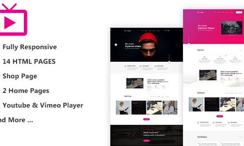 MaxVid – Video Agency HTML5 Template