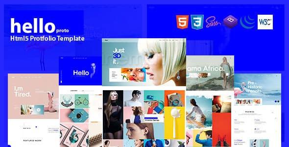 Hello Porto – Portfolio HTML Template